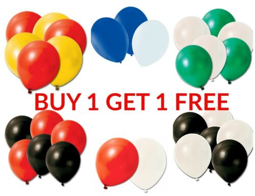 "10/"" Uni Latex Ballons Anniversaire Mariage Ronde baloons Parti Décoration Fournitures Bal"