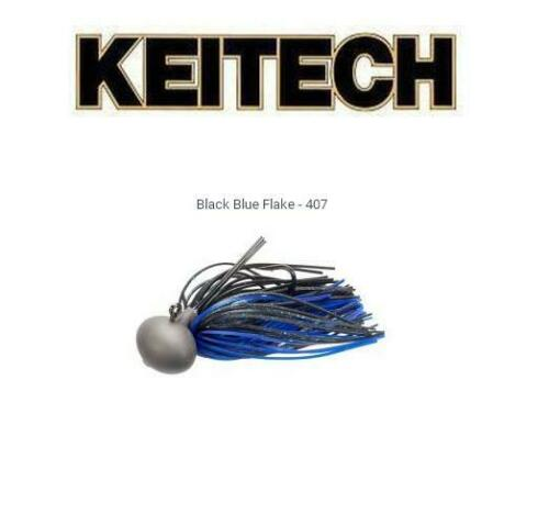 Keitech Tungsten Football Jig Model II Version 2.0 1//2 oz. Select Color