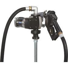 Roughneck Hd Fuel Transfer Pump 15 Gpm 12v Dc Auto Nozzle Gasoline Compatible