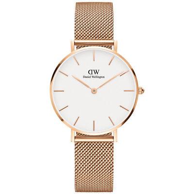 NEW Daniel Wellington DW00100163 Classic Petite Melrose 32mm Watch Rose