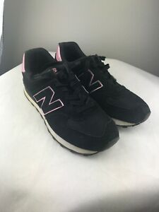Details about Women's New Balance 574 Classic Shoes Sneakers Size: 8 Color:  Black Pink/Purple