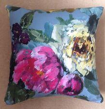 "Designers Guild Roseto Celadon Cushion Large Cover Pillow 17"" NEW"