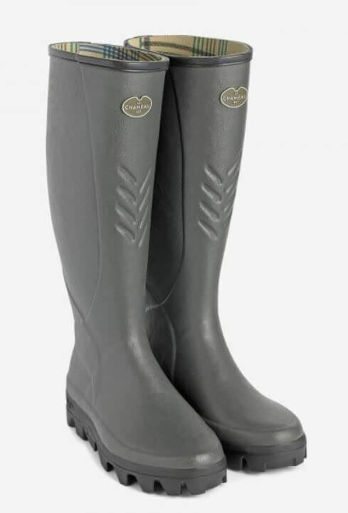 Le Chameau Classic Label Ceres Jersey Wellington Boots (Hunting Walking)