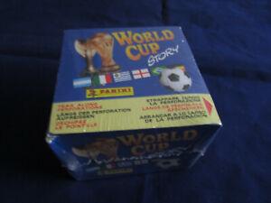 Panini World Cup Story 1990 1994, 1 box/display, 50 packs, Pele / Maradona, etc.