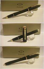 Penna Parker Urban Premium Fountain Pen Black golden - Stylo Nib F steel