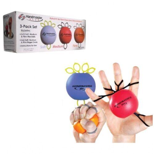 Exerciser Handtrainer Fingertrainer 3-teilig Handmaster Plus SET