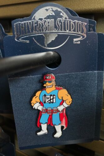 Universal Studios Exclusive The Simpsons Duffman Trading Pin New on Card