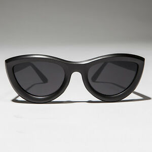 3a4a7d3a9b9a4 Image is loading Rare-Oversized-Mod-Cat-Eye-Chunky-Sunglass-Matte-