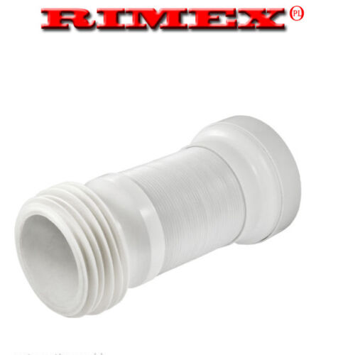 """Flexible Toilet WC Waste Flexi Pan Connector FOR STANDARD 4/"""" PIPE"""
