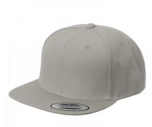 Yupoong Classic Snapback Baseball Cap Plain Blank Snap Back Hat 6089 ... c884bbbcfb8