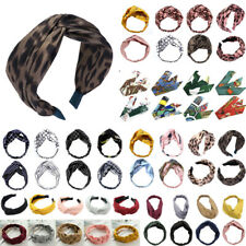 Draht Haarband Stirnband Kopfschmuck Rockabilly Hasenohren Band Leopard Gold