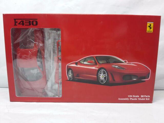 RS-67 Ferrari F430 Kit de Montaje 98 Piezas 1/24 Fujimi 12255 2600