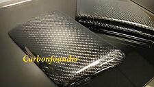 BENZ W212 E63 AMG CARBON FIBER FRONT BUMPER SIDE VENT INSERT COVER PAD PAIR TWN