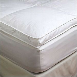2 Quot Twin Goose Down Mattress Topper Featherbed Feather