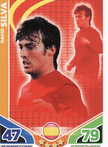 Match Attax World Cup 2010 Spain /& Switzerland Cards Pick From List