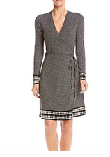 Michael Kors Printed Wrap Dress Size M MSRP $125.00
