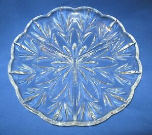 WATERFORD-CRYSTAL-3-Section-Relish-Candy-Cookie-Tray-Dish-Clear