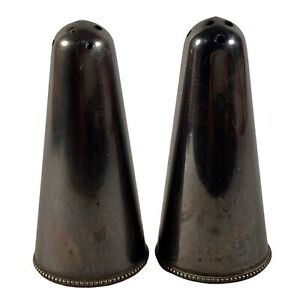 Vintage Hallmark Silver Bullets Salt and Pepper Shakers  3