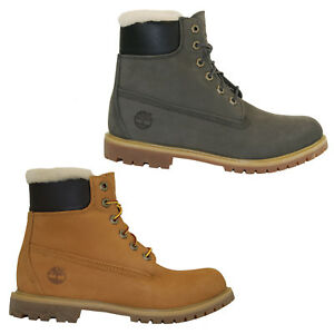 Image is loading Timberland-Icon-6-Inch-Premium-Lambskin-Boots-Waterproof- 048ead71430e