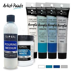 POUR-PAINTING-SET-Coral-Dreams-Acrylic-Impasto-Paint-Pouring-Starter-Set