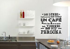 Vinilo decorativo cocina o salón stickers decals decoración paredes calcas
