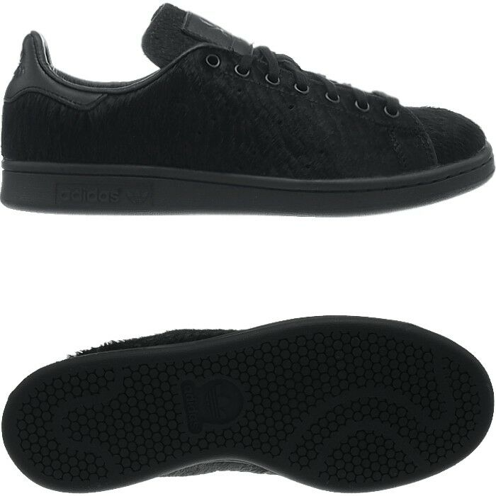 Adidas OC sneakers Stan Smith black real ponyhair men's sneakers OC collectors shoes NEW be61a8