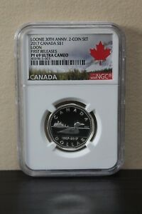 2017-Canada-Loon-1st-Releases-Loonie-30th-Anniv-S-1-NGC-PF69