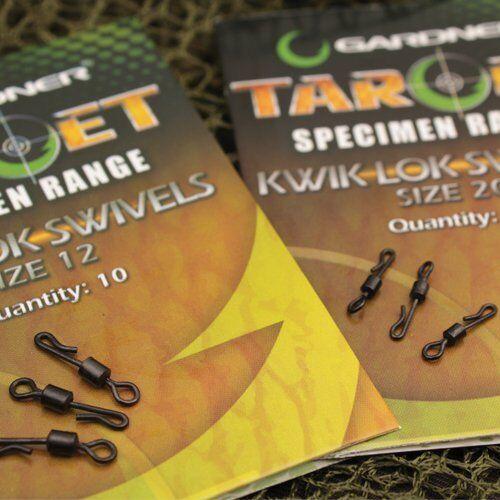 Gardner Tackle Target Kwik Lok Swivels Terminal Tackle Carp Coarse Fishing