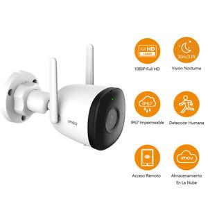 Cámara de Vigilancia WiFi Exterior 1080P Imou IP Exterior con Visión Nocturna