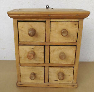 Antique-Solid-Wood-Wall-Cabinet-IN-Sofia-With-6-Drawers