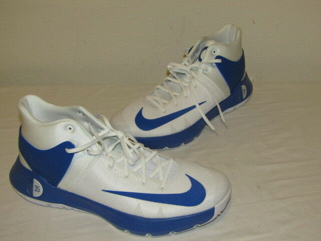 Nike KD Trey 5 IV TB Promo Kevin Durant Blue White Mens Sz 18 New 856484-140