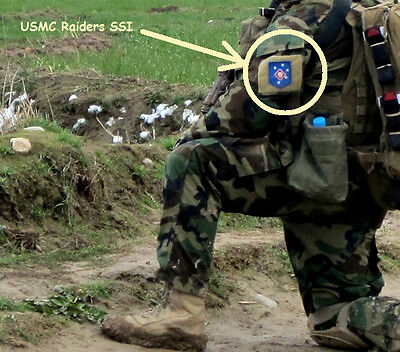 Usmc Marsoc Raiders Kandahar Whacker Jsoc Usmc Green Berets Sp Op Hook/loop Ssi Collectibles Other Militaria