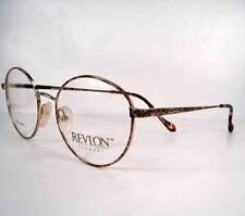 Revlon 1010 Demi Amber Women Eyeglasses Eyewear Frames Glasses