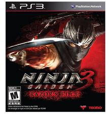 Ninja Gaiden 3: Razor's Edge (PlayStation 3) BRAND NEW / Region Free
