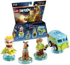 Lego dimensiones Scooby Doo Equipo Pack (NUEVO) (PS3/PS4/XBOX One/Wii U/Xbox 360)