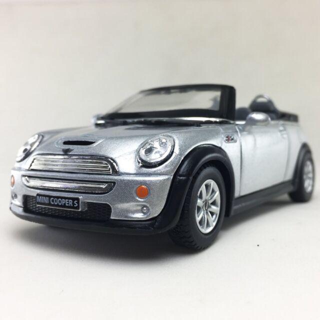 Mini Cooper S Convertible Die Cast Model 1 28 Scale Sport Car Door