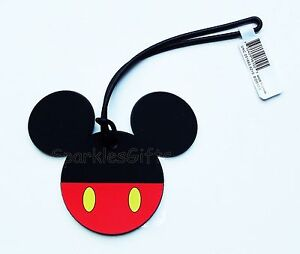 Mickey Mouse Disney Mickey Body Soft Touch Luggage Tag