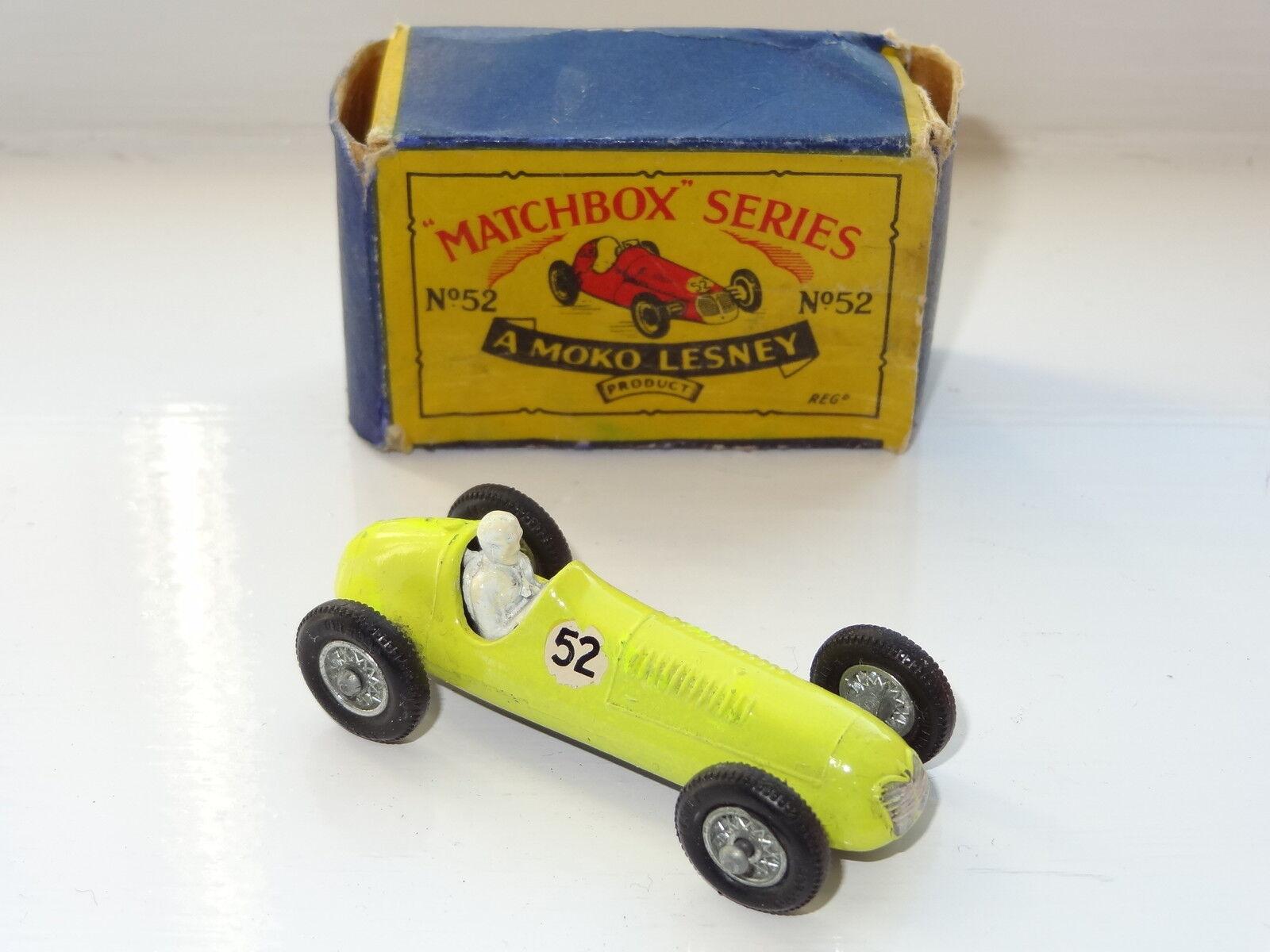 Matchbox Moko Lesney Maserati 4CLT Racer - 52 très rare