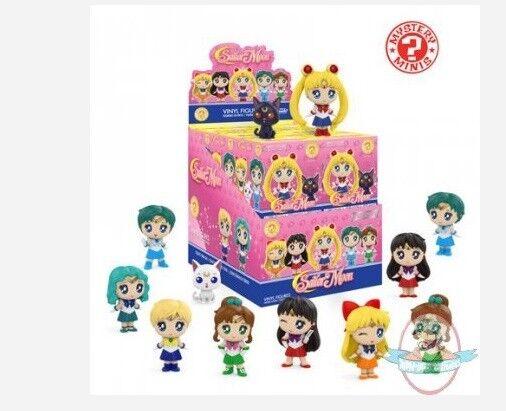 Mystery Minis Sailor Moon Series 1 Mini Figure Case of 12 Funko