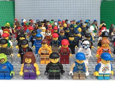 Razionale Lego Minifigures X 5 Con I Capelli Cappello O Accessorio Figure Mini Figure Lotto Odl-mostra Il Titolo Originale