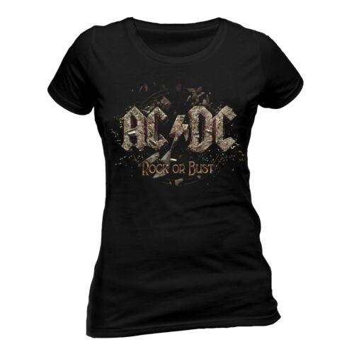Ladies Rock or Bust  Shirt AC//DC