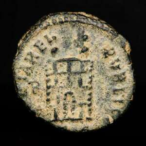 *lucernae* Teodosio I (379-395) Nummus De Bronce,tesalonica Gloria Reipvblice Usines Et Mines