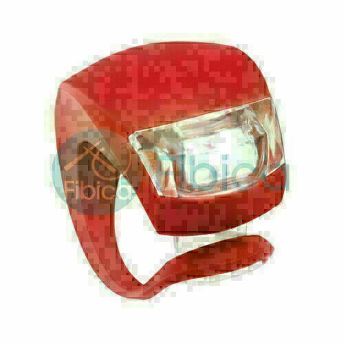 New Burky Bike Cycling Frog LED Front Head Rear Light Waterproof Lamp Red GK