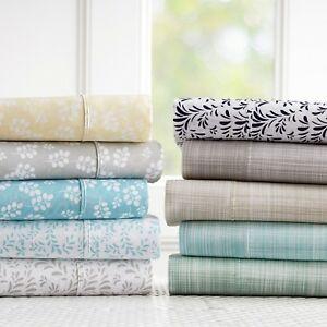 Linen-Market-Hypoallergenic-Ultra-Soft-Premium-4-Piece-Printed-Bed-Sheet-Set