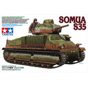 Tamiya-35344-French-Medium-Tank-Somua-S35-1-35