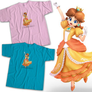 Princess-Daisy-Mario-Super-Smash-Bros-Ultimate-Nintendo-Game-Unisex-Tee-T-Shirt