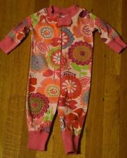 Hanna Andersson Organic Cotton Sleeper One Piece Pajamas Girl's 50 / 0-6 Months