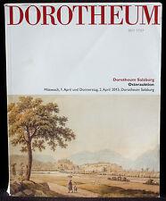 Catalogue Dorotheum, 1 & 2 april 2015 Osterauktion EX