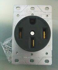 Cooper Flush Mt Range Receptacle Oven Stove Outlet 50a 125 250v 14