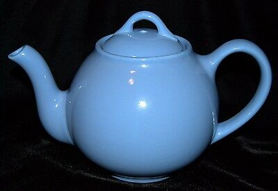Vintage Lipton's Tea Teapot Periwinkle or Country Blue Made In USA Collectible